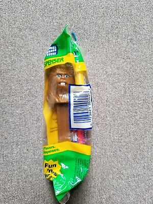 SEALED Star Wars Chewbacca * PEZ DISPENSER * Green Package