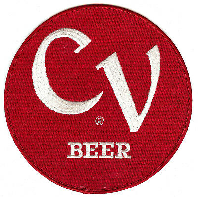"""CV BEER 7"""" Rolled Edge round shape Patch 50'S AND 60'S ANTIQUE (1959)"""