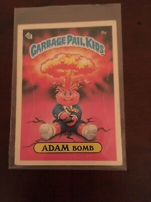 garbage pail kids series 1 ADAM Bomb