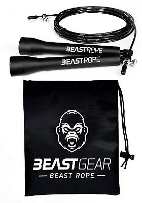 Speed Skipping Rope by Beast Gear ? for Fitness, Conditioning and Fat Loss.