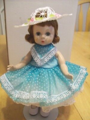 """VINTAGE MADAME ALEXANDER 8"""" SLW DOLL TAGGED """" Madame Alexander, Rights Reserved"""""""
