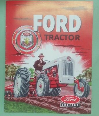 1954 Ford Model NAA tractor brochure
