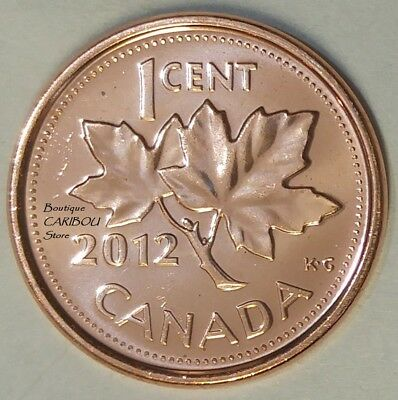 2012 Canada Proof-Like 1 Cent