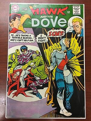 The Hawk and the Dove #1 (Aug-Sep 1968, DC) Steve Ditko Story/Art