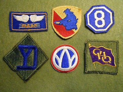 WW2 Patch Lot #4