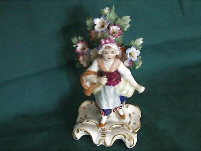 Vintage Continental Gold Anchor Mark Hand Painted Figurine NR