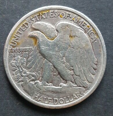 United States 1936 Walking Liberty half dollar