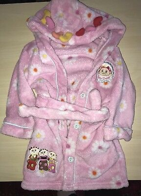BHS Baby Girls Upsy Daisy, In The Night Garden Dressing Gown, Age 12- 18 Months