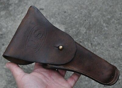 ** Original 1917 WWI US Military Holster by Cambell R.J.M .45 C3 **