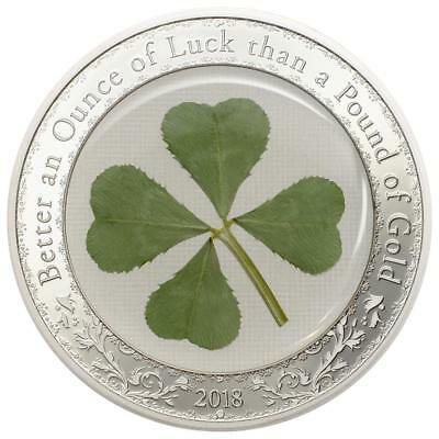 2018 Ounce of Luck Silver Coin - $5 Palau
