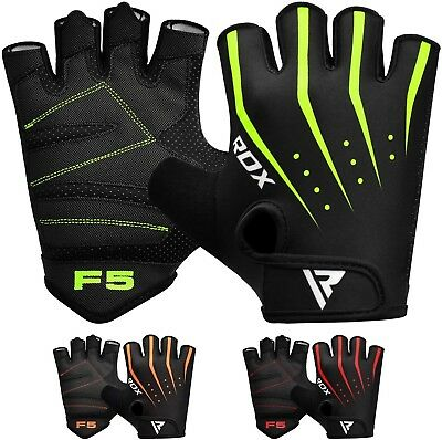 Yellow Gym Weight Lifting Gloves Workout Fitness Bodybuilding Breathable Wrist