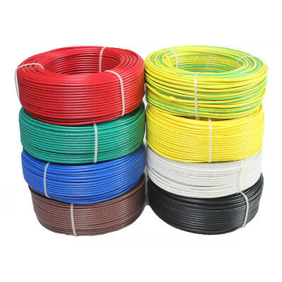 UL1015 10AWG Stranded Auto Electrical Equipment Wire Cable Multicolor 1/3/5/10M