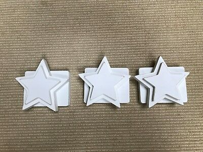 Pottery Barn quilt clips - star shape