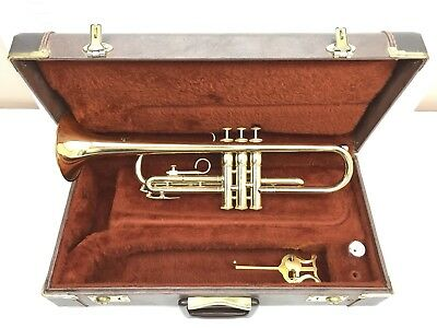 1977 Olds Ambassador Trumpet and Vincent Bach Mouthpiece in Excellent Condition!
