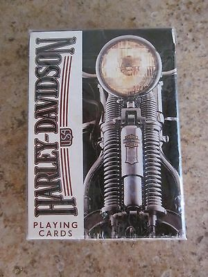 Harley-Davidson Playing Cards New Sealed 243-R