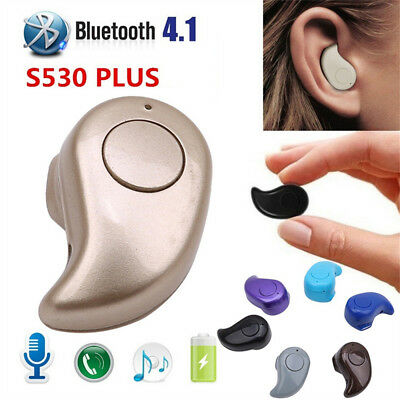 Mini Wireless BT Stereo Headset In-Ear Headphone Earphone Earpiece For Samsung