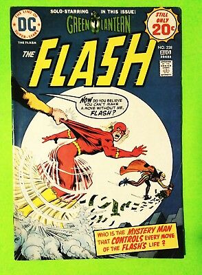 Flash #228 Earth Prime + Solo Green Lantern, Dc 1974, Vf 8.0, Combined Shipping