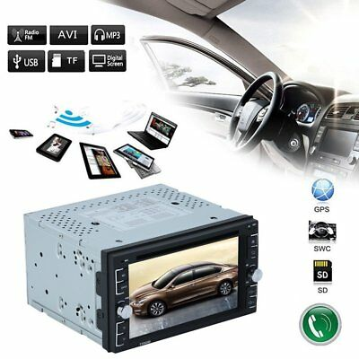 """6.2"""" 2DIN Android6.0 HD  Navi Autoradio Stereo WIFI+32G DVD Bluetooth Lettore"""