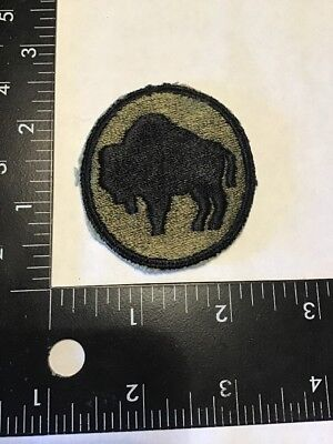 Original WW2 WWII US Army 92nd Infantry Division Patch