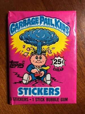 1985 Topps GARBAGE PAIL KIDS Series 1 Unopened Wax Pack - Glossy Backs
