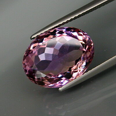 8.02Ct.Real! 100%Natural Purple&Golden Bolivia Ametrine Full Sparkling!