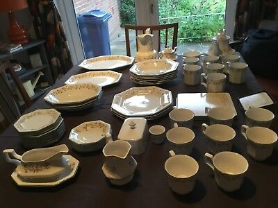 A Comprehensive Eternal Beau Dinner Set with lots of extras- No reserve!