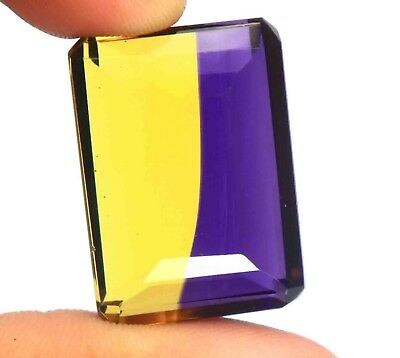 Free Shipping 67.35 Ct EGL Certified Loose Multi Color Ametrine Gemstone BU309