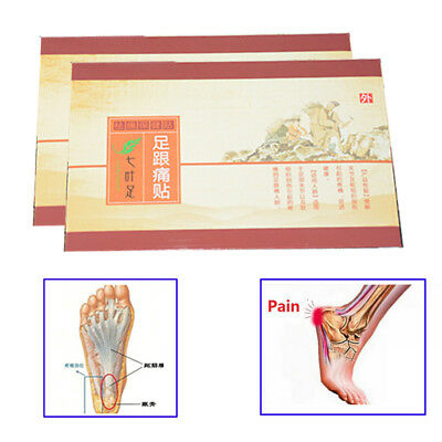 Povihome Heel Spur Pain Relief Patch Herbal Calcaneal Foot Care Massage Z32402
