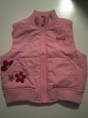 Sprout Baby Girl Vest 00 BNWT