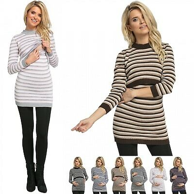 Zeta Ville. Women's Maternity Nursing Knitted Sweater Long Sleeves. 490p