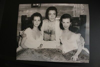 Hammer Horror - Twins Of Evil - Collinson Twins - Original  Photo With Snype