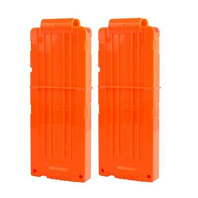 2x12-darts Banana Magazine Quick Reload Clip for Nerf N-strike Elite Kids Toy