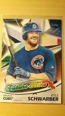 MLB Baseball, Chicago Cubs, Future Stars, Schwarber, Topps Series Two 2018
