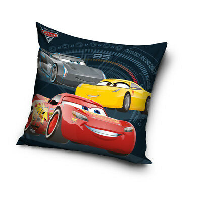 NEW DISNEY CARS 3 cushion cover 40x40cm pillow cover 01