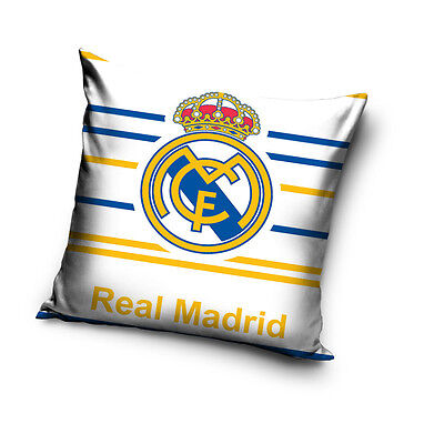 FOOTBALL CLUB REAL MADRID FC 01 cushion cover 40x40cm 100% COTTON pillowcase