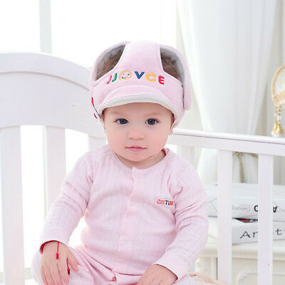 Baby Kids Anti-fall Head Protection Hat Infant Safety Adjustable Helmet Headgear