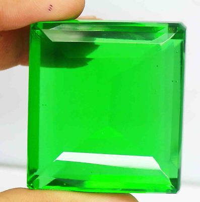 Best Ebay Offer 499.30 Ct Certified Emerald Shape Green Moldavite Gems BZ1233