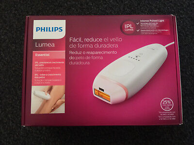 Philips Lumea IPL BRI861/00 Hair Removal Corded Device Body Face Legs
