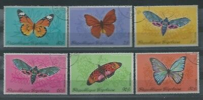 Togo - 1970 Butterflies - Used set