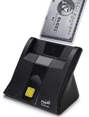 E-books T38 Contact Chip Smart Card Reader for Campus ID Credit Card Online Bank