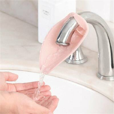 Kid Hand Washing in Bathroom Sink Faucet Extender For Helps Kids Baby Toddler T