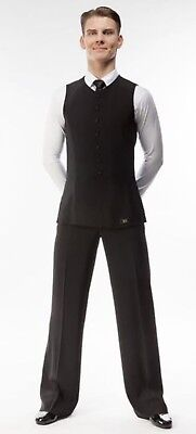 RS Atelier Ballroom Practice Competition Dancing Men's Youth Black trousers DSI