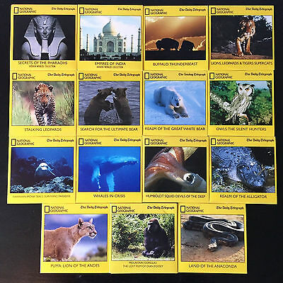 National Geographic (Daily Telegraph) DVD Bundle of 15 Documentaries