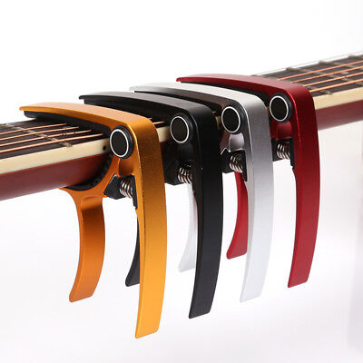Advanced Guitar Capo Quick Change Tune Clamp Acoustic Electric Classic Guitar BR