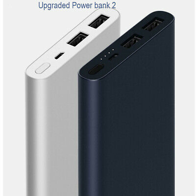 New Xiaomi Mi Power Bank 2S 10000mAh Quick Phone Portable Battery Charger