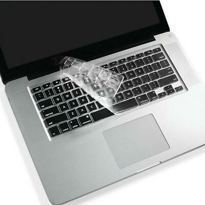 Silicone Waterproof KeyBoard Cover Skin For MacBook For Old Macbook Pro 13 15 17