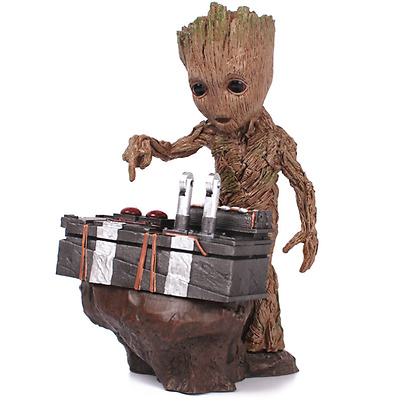Anime Guardians of the Galaxy Vol. 2 Dancing Baby Groot Action Figure Gift Toy