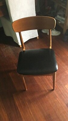 4 Sedie Chairs Chaises Midcentury Vintage Anni 60 Design