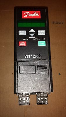 DANFOSS VLT 2800 Variable Frequency AC Drive 195N1013 VLT2807PT4  1.7 Kva