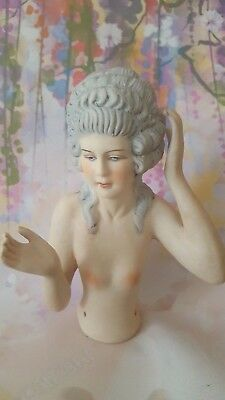 Beautiful 1920'S Style Marchioness, Reign of Louis XV of France Pin Cushion Half